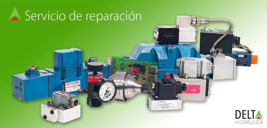 delta hidraulica reparacion